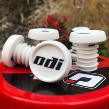 2 шт. ODI горный велосипедный Захват Противоскользящие прочные крышки для руля MTB велосипеда легкие Заглушки для MTB BMX DH FR балансировочный автомобиль