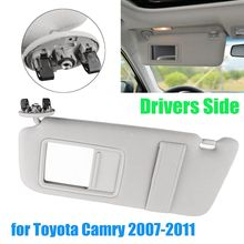 Audew for Toyota Camry 2007 2008 2009 2010 2011 Front Left Driver Side Sun  Visor d68203a8eca