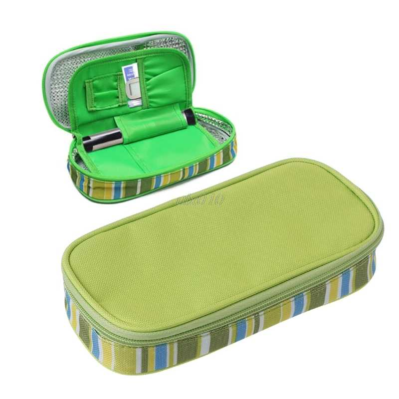 Portable Insulin Ice Cooler Bag Pen Case Pouch Diabetic Organizer Medical Travel S09 Drop ship