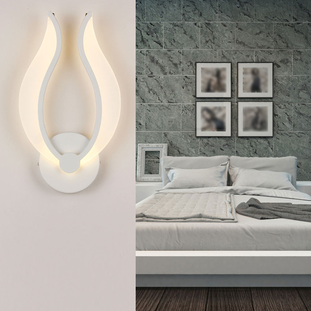 Bedroom modern wall lights - Modern Led Wall Lamps Ac85 265v Simple Bedroom Bedside Light Indoor Kitchen Dining Room Corridor
