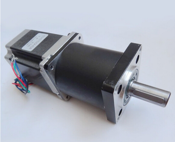 2pcs lot nema 23 planetary geared stepper motor 76 mm