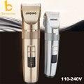 USB Перезарядки Профессиональная машинка для стрижки волос литиевая батарея titanium керамические лезвия USB Аккумуляторная Волос Триммер для стрижки волос машина