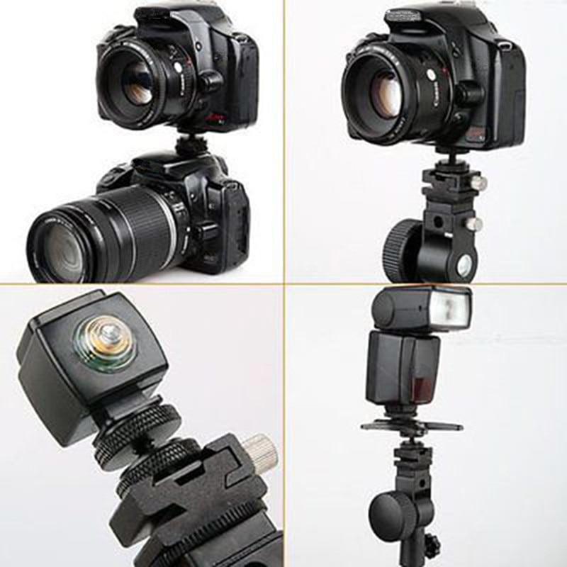 Camera Accessories 1/4 Inch Professional Tripod Screw Hot Shoe Mount Adapter to Flash Shoe Umbrella Holder Stand Bracket Mayitr
