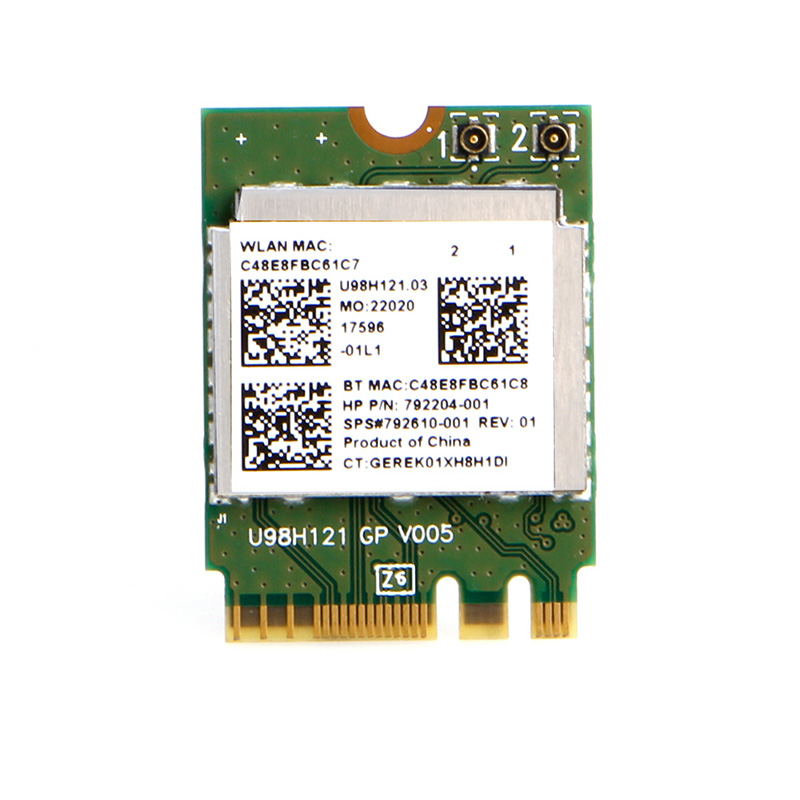 TP Link WLAN Card,Aisumi,Mini Wireless WiFi RTL8723BE 792204-001 Card NGFF Interface For HP Dell