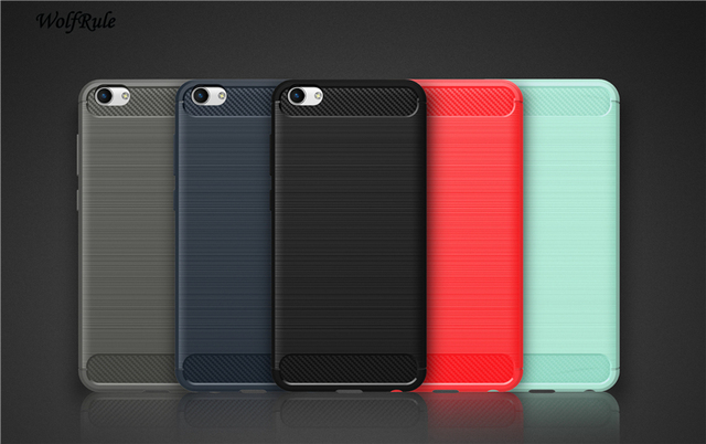 WolfRule Case Vivo X7 Plus Cover Shockproof Silicone Brushed Style Case For Vivo X7 Plus Case For BBK Vivo X7 Plus Phone Bag