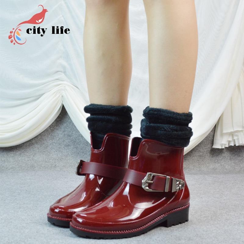 Online Buy Wholesale winter rain boots from China winter rain ...