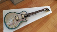 China's firehawk shop guitar Electric guitar, the real abalone shell inlay, can accept custom DIY.