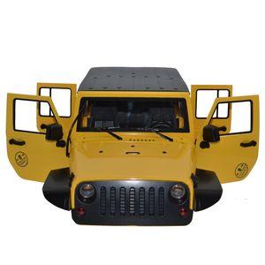 Корпус кузова автомобиля, 12,3 дюйма, 313 мм, колесная база для осевого SCX10 и SCX10 II 90046 90047 jeep Cherokee Wrangle 1/10 RC Crawler