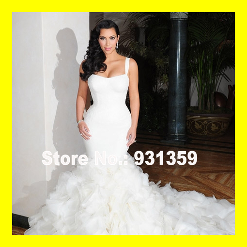 Weddings Dresses Wedding Guest Summer Petite Black And White Dress Cotton Beach Floor Length Court Train Lace Swee 2015 Discount