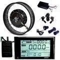 """LCD de 26 """"* 4 de Grasa Llanta 36V500W Bicicleta Eléctrica E Bicicleta Kit de Motor de Cubo"""