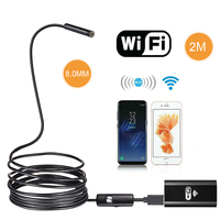 5 5mm 7mm 8mm Lens Wifi Endoscope HD 720P 480P 1m 2m 3 5m 5m Semi