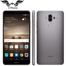 "D'origine Huawei Compagnon 9 Mate9 4G LTE Octa Core 4 GB RAM 32 GB ROM 5.9 ""HD Android 7.0 D'empreintes Digitales ID 20MP + 12MP Caméra Mobile Téléphone"