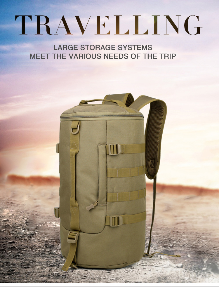 2018 100% New Top Quality Outdoor Army Hiking Camping Climbing Travel Bag Tactical Rucksack Military Backpack|Climbing Bags| |  - title=