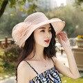 Ретро сеть женской моды органза летнее солнце шляпу Леди шляпа шляпа Солнца