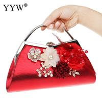 c6a17892a Luxury Handbags Women Bags Designer Flower Print Clutch Bag With Plastic  Pearl Floral Evening Party Clutches