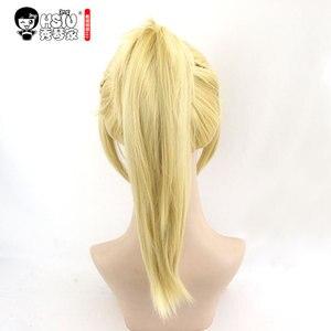 Image 3 - Hsiu alta qualidade mordred cosplay peruca fate/apocrypha traje jogar mulher perucas adultas dia das bruxas anime jogo cabelo