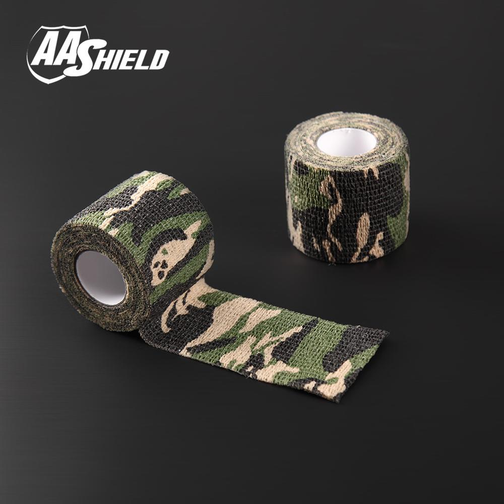 AA Shield Outdoor Camping bandage Camo Tape Military Rifle Covert Adhesive multicolor / Gun OCP 3PCS Free Shipping