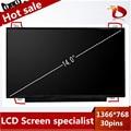 Alta calidad a + 14.0 pulgadas de pantalla lcd del ordenador portátil para acer aspire v3-471 431 v5-471 471g 473 pantalla del panel delgado 30 30pins edp 1366*768