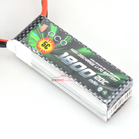 LC Racing High Quality Security ACE 1800mAh 11 1V 20C 3S Polymer Lithium Robot Model Battery