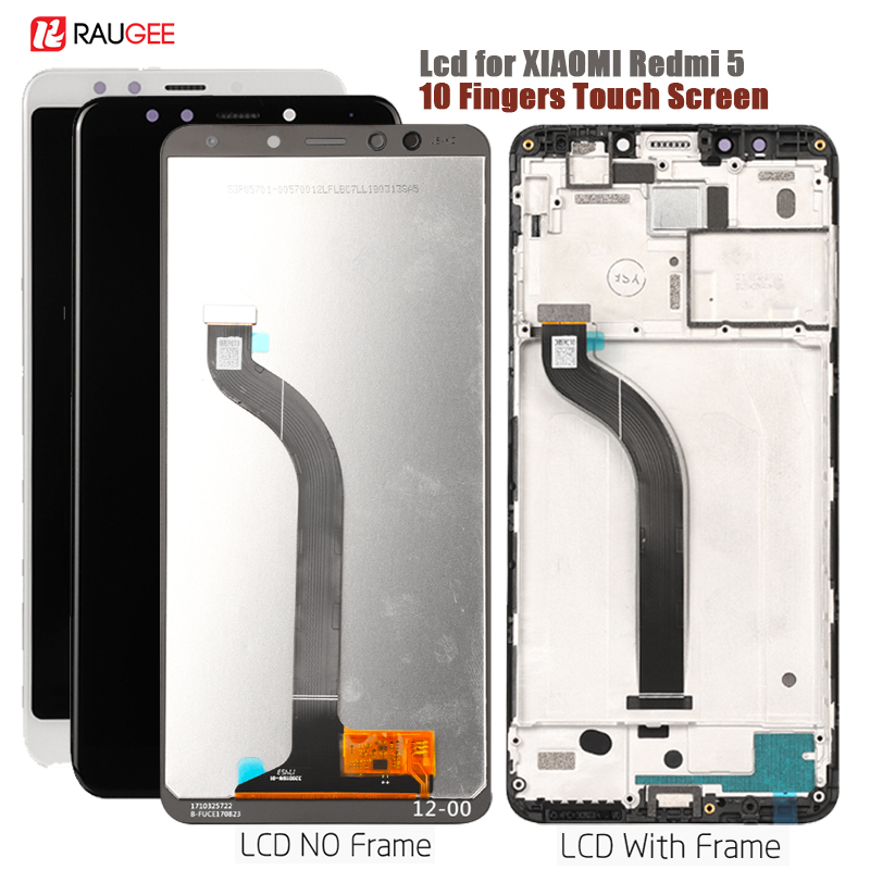Display For Xiaomi Redmi 5 LCD Display Touch Screen replacement for Xiomi Redmi 5 screen Lcd sensor Red mi 5 display with frameDisplay For Xiaomi Redmi 5 LCD Display Touch Screen replacement for Xiomi Redmi 5 screen Lcd sensor Red mi 5 display with frame
