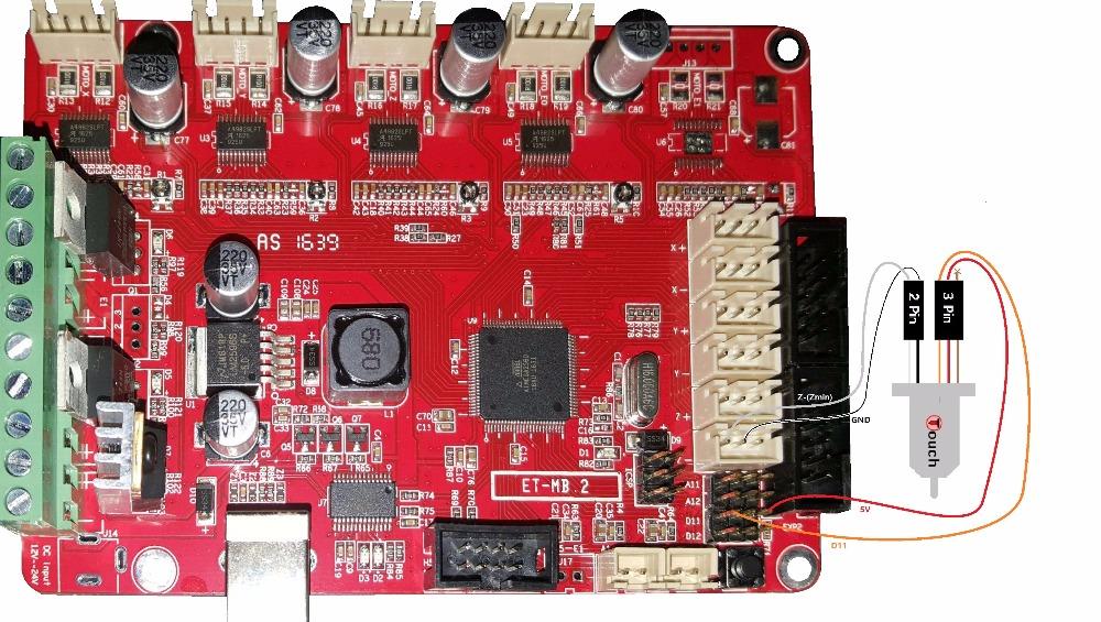Prusa_i3_MKS_Base_V1.3_board_BLTouch