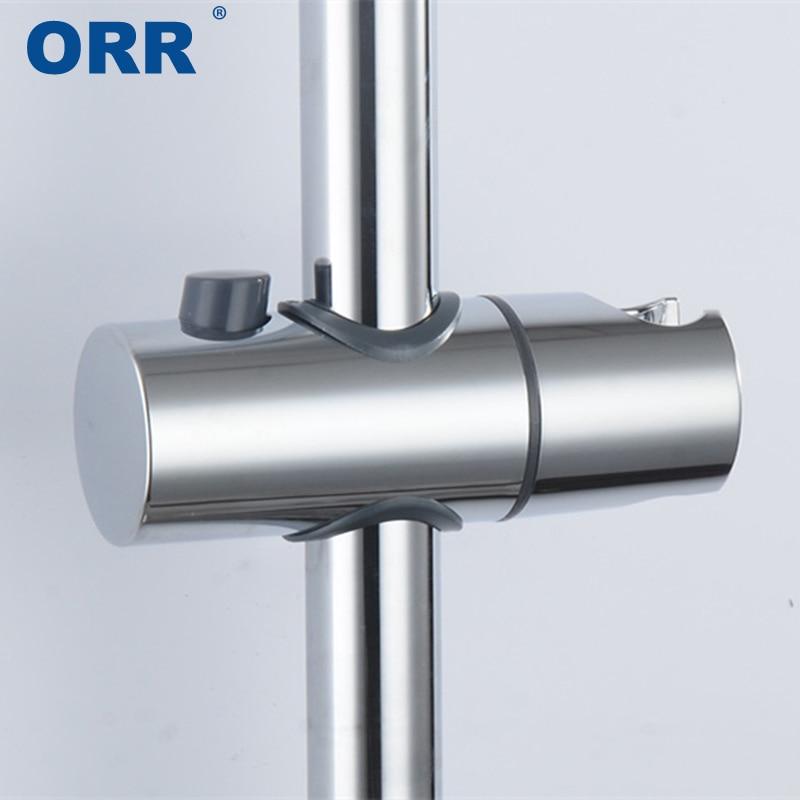 22 24 25 Shower Mounting Bracket Holder Promotion Handheld Adjustable Rail Slider Suporte Chuveiro Bathroom Accessories ORR