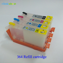 Einkshop 364XL Empty Refillable ink Cartridge replacement For HP 364 xl Photosmart 5510 5511 5512 5514 5515 5520 5522 5524 ink