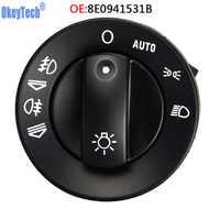 OkeyTech 8E0941531B phare de voiture lumière de tête de contrôle adapté pour Audi A4 8E B6 B7/A4 Avant (00-08) 8E0 941 531 B livraison gratuite