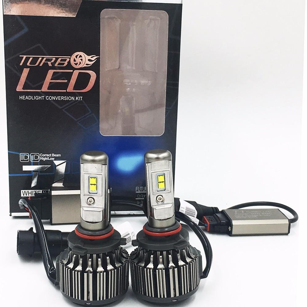 2x carro led 9005 70 w 7000lm 6000 k luce lampadina del faro 6000 k
