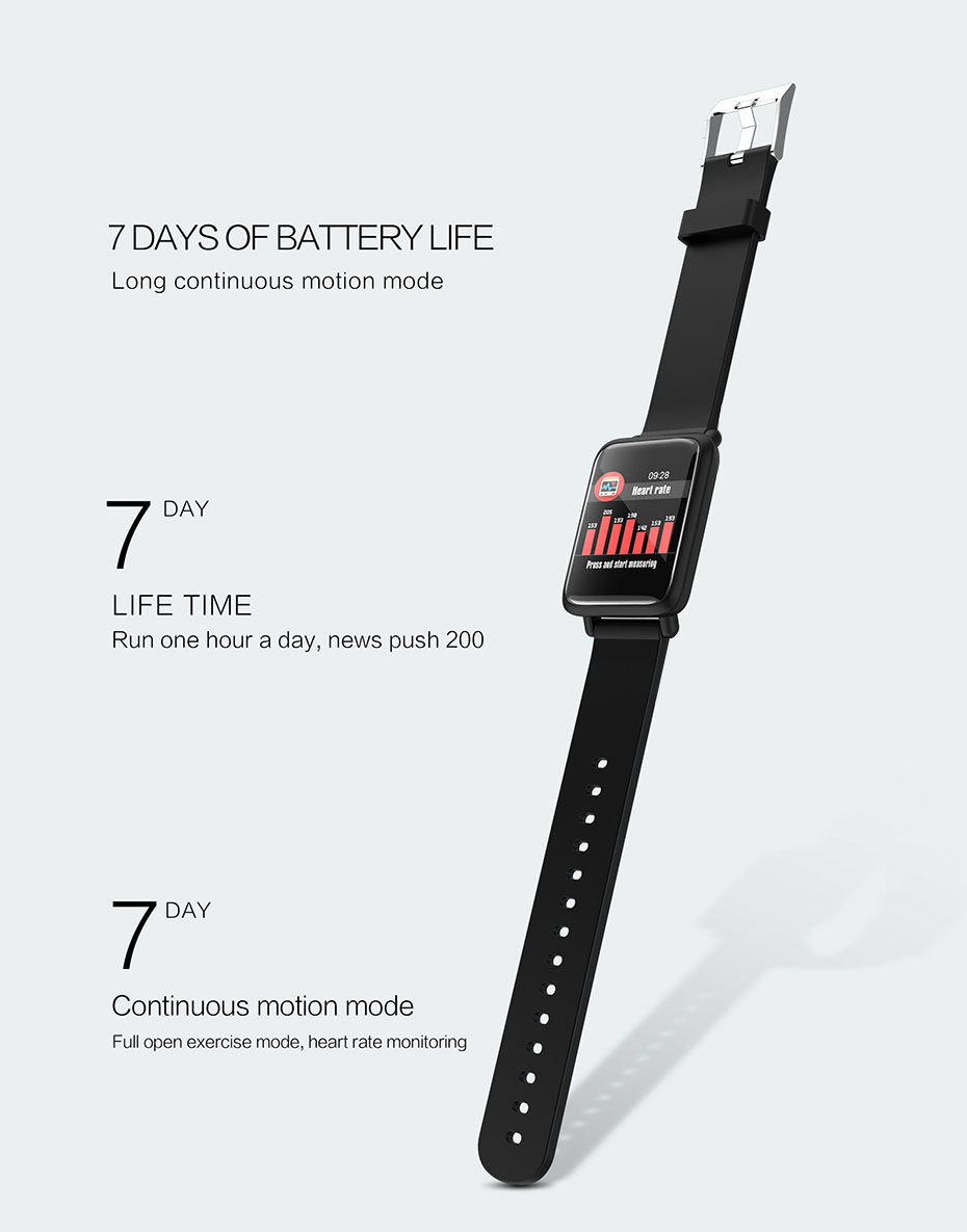 COLMI Smart Watch M28 IP68 Waterproof Bluetooth Heart Rate Blood Pressure Smartwatch for Xiao mi Android IOS Phone 11