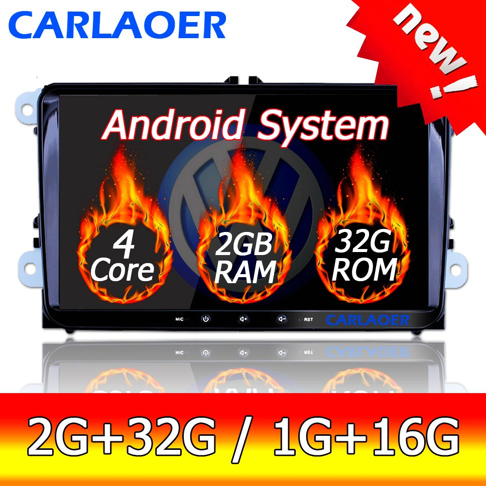 New 9 Android Car GPS Navigation 2DIN for Volkswagen SKODA GOLF 5 Golf 6 POLO PASSAT