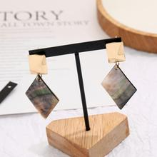 CXW Free shipping New type alloy burnish OL style earrings for woman euramerican popularity eardrop 2019 jewelry E03