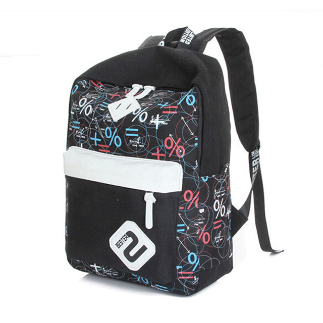 68b05991cb5 Moda mujeres mochila de lona patchwork bolsos de escuela mochilas negras  casuales para adolescentes viaje bastante