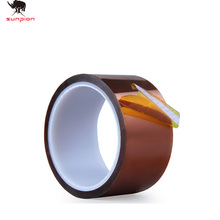 3d printer parst High Temperature Resistant tape Heat dedicated Tape Polyimide Adhesive Tape wideth 10mm 20mm