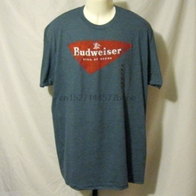 90a7392a Budweiser Beer Men's Graphic T Shirt Vintage Look NWT Size Small or XL  NEW(China