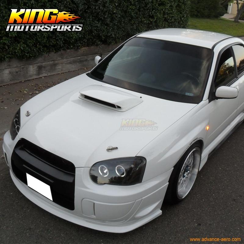 Fit 04 05 Subaru Impreza WRX STI PU Front Bumper Lip Poly Urethane USA Domestic Free Shipping subaru impreza wrx sti самара продаю