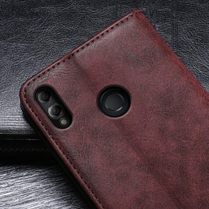 Image 5 - Case For Honor 8X Max Case Cover Hight Quality Retro Flip Leather Case For Huawei Honor 8X Max Cover Business Phone Case
