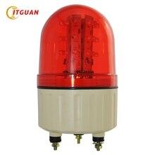 LTE-5082 промышленный светодиодный проблесковый маячок, цвета-красный, желтый, синий зеленый Предупреждение светильник 24 V/12 V/220 V машина светильник полицейский проблесковый маячок аварийный светильник