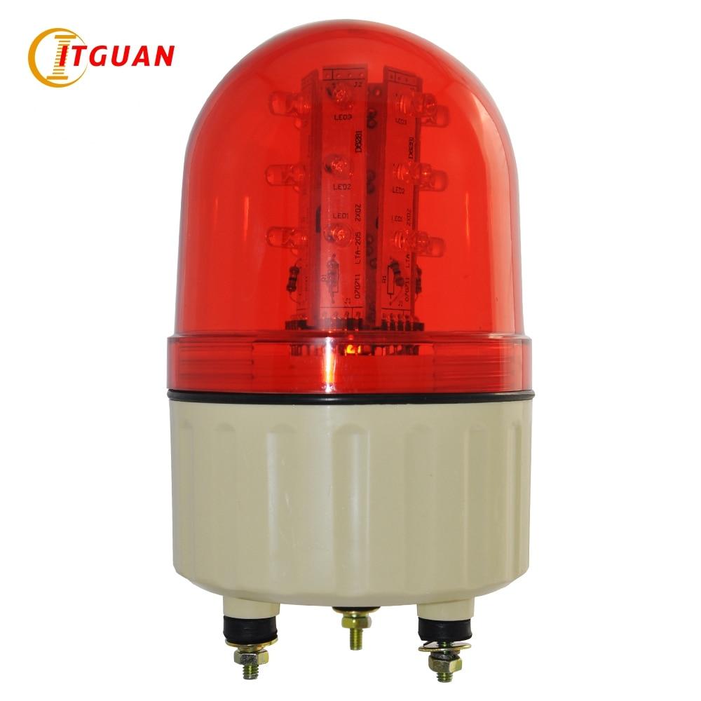 LTE-5082 Industrial Led Flashing Red Amber Blue Green Warning Light 24V/12V/220V Machine Light Beacon Police Emergency Light