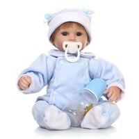 40cm Bebe Reborn Baby Doll Kids Lifelike Dolls Baby Alive Soft Toys 16 Inch Silicone Reborn