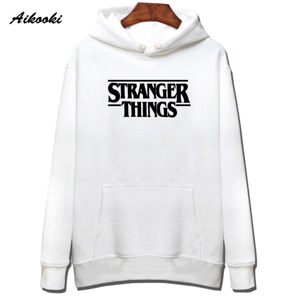 Hoodie Stranger Things Hoodies Sweatshirt women/men Casual Stranger Things Sweatshirts Women Hoodie Men's 6