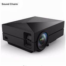 Home Theater Mini Portable HDMI USB LCD LED Mini Micro piCo 3D Projector HD 1080P Proyector Projetor Projektor Beamer(China)