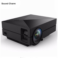 Home Theater Mini Portable HDMI USB LCD LED Mini Micro piCo 3D Projector HD 1080P Proyector Projetor Projektor Beamer