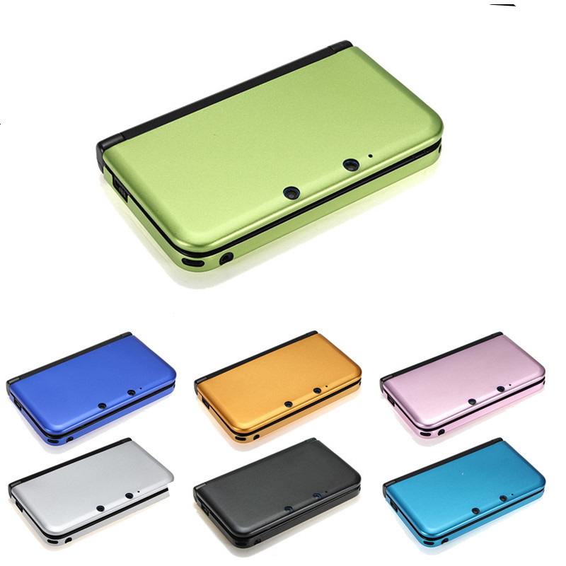 Hot Sale Muliti Color Aluminum Hard Metal Box Protective Skin Cover Case Shell For Nintendo For 3DS XL/LL High Quality