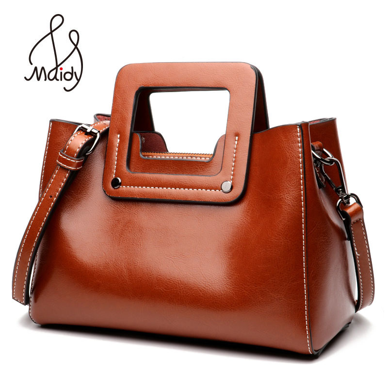Maidy Summer Style Women Lady Soft Genuine Cow Leather Flap Messenger Crossbody Bags Tote Shoulder Handbag Designer High Quality high quality cow leather women bags genuine leather shoulder bags soft messenger solid zipper fashion bag lady tote