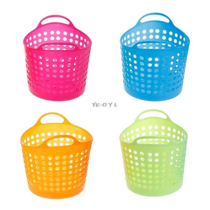 Plástico Cestas de Armazenamento Desktop do Escritório Caixa de Armazenamento Organizador De Maquiagem 10.5*8.5*8 cm Azul Verde Rosa Quente