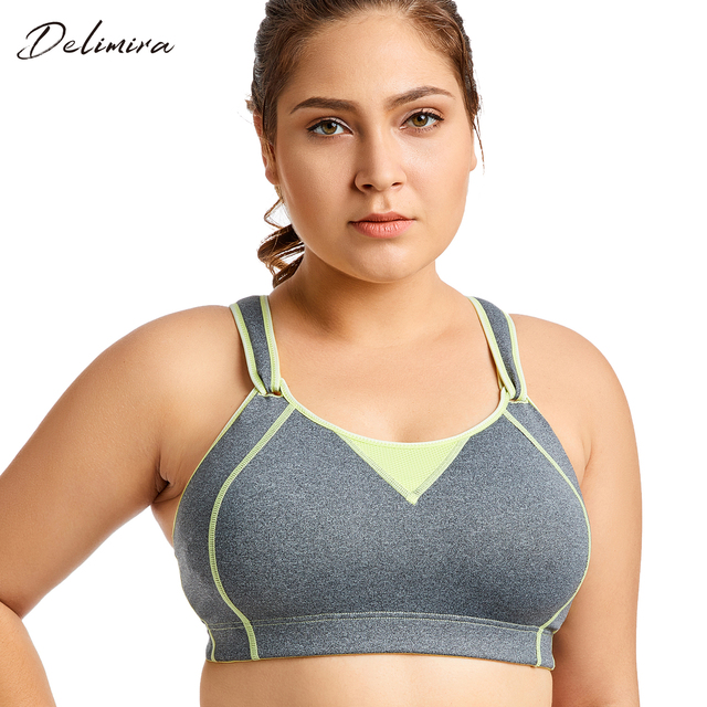 bd4494595cf5d Women s High Impact Wire Free Non Padded Rebound Racer Pro Exercise Bra
