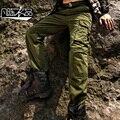O Envio gratuito de New macacões Macho ocasional dos homens Militares moda inverno lazer calças Tamanho calças soltas de Multi Bolso promoção