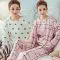 Onesie зима фланелевые пижамы костюм женский одежда Для Обустройства Дома Коралловый Флис Пижамы один наборы