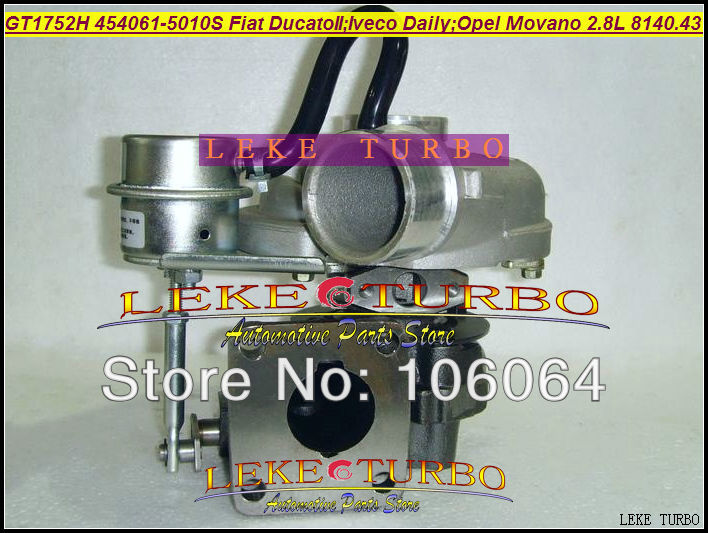 Free Ship GT1752H 454061-5010S 454061 Turbo For FIAT Ducato For IVECO DAILY Movano 2 For Renault Master 8140.43.2600 S9W700 2.8L german truks iveco stralis промтоварный